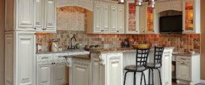 Heritage White Kitchen Cabinets Walkers Mill