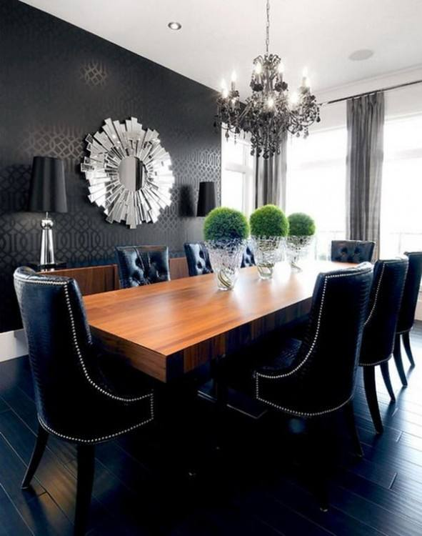 Dr Rm Brynwood Reg Blk Black Brynwood Black Pc Round Dining Ideal Black Dining Room Table