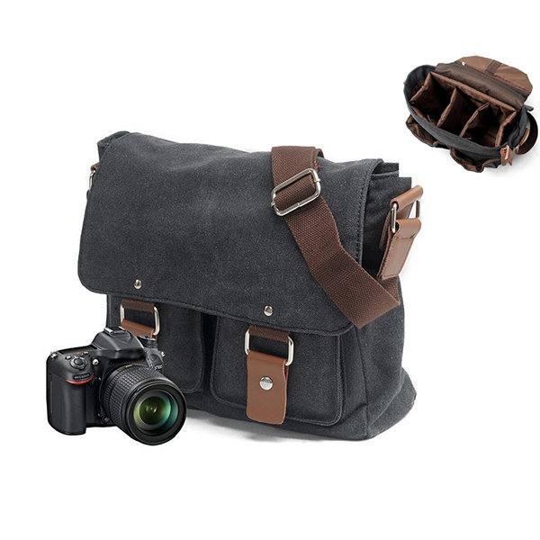 LAZYLIFE Camera Dslr Bag Laptop Backpack Waterproof Nylon Backpack Women Men Travel Bag Fashion Camera Backpack