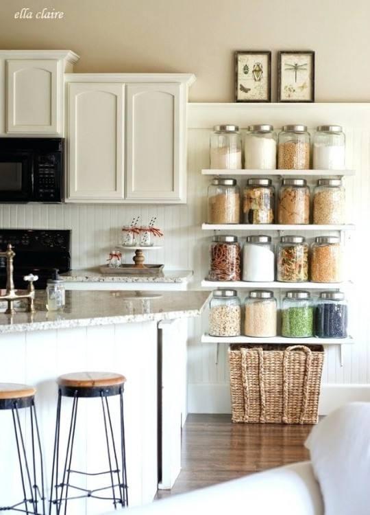 Small Kitchen apartment cabinet organization ideas