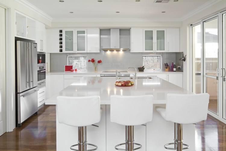 black and white kitchen floor tile ideas