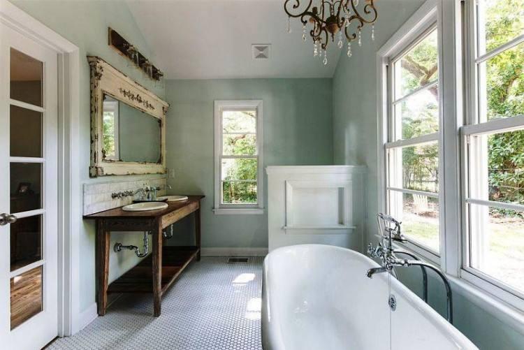 Paint Colors Farmhouse Bathroom Ideas