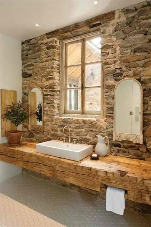 [Bathroom Interior] Bathroom Stone Interior