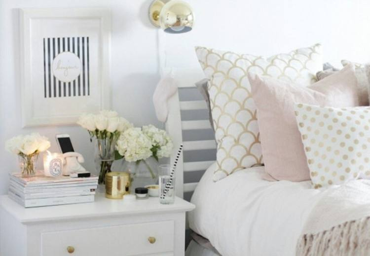 pink and gold room decor rose gold bedroom