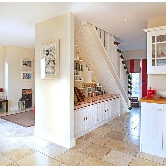 If you have a subterranean kitchen then that area under the stairs is probably your worst nightmare – no fuse sockets for an oven and not enough space to
