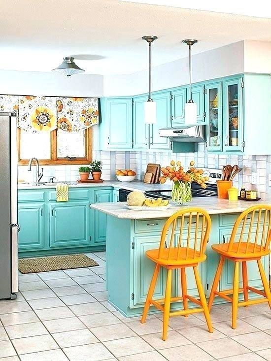 red teal kitchen and rug decor ideas