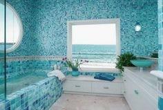 coastal bathroom decor ideas beach wall art images on home designing themed small vintage cottage bath