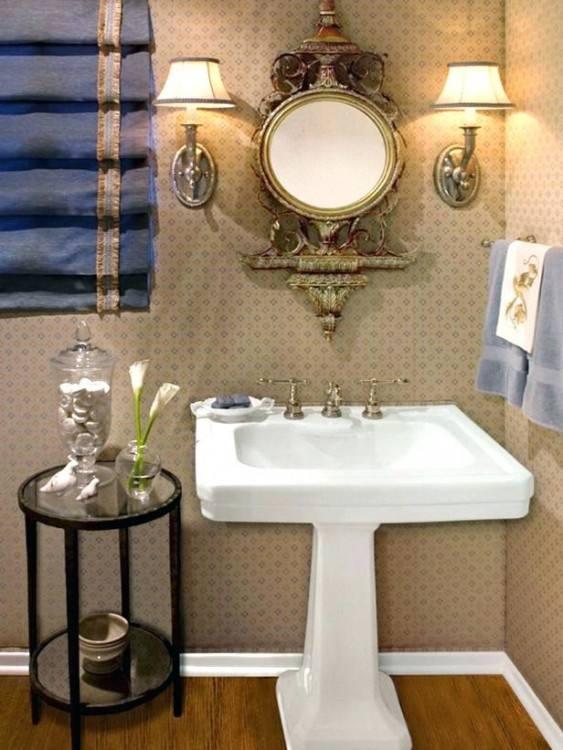 Pedestal Sinks Small Bathroom Sinks Lowes Kitchen Bath Ideas · •
