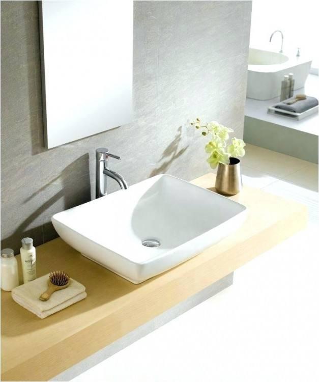 [Bathroom Ideas] Bathroom Small Dark Gray Vessel Sink