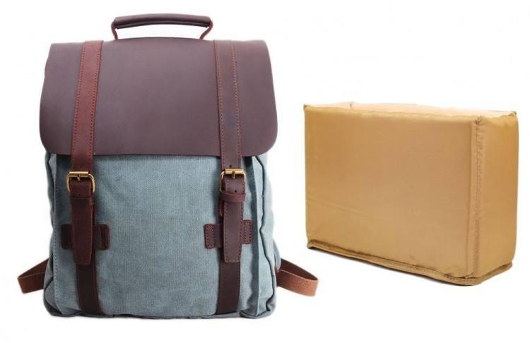 """Large Professional Camera Laptop Backpack SLR DSLR Camera Bag for Hiking Traveling with 15""""Laptop"""