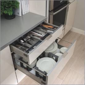 pull out cabinet drawers nice kitchen