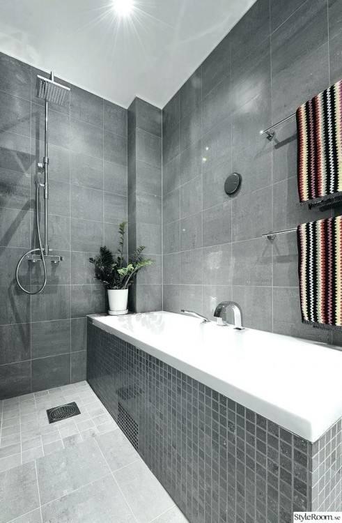 grey tile bathroom ideas uk