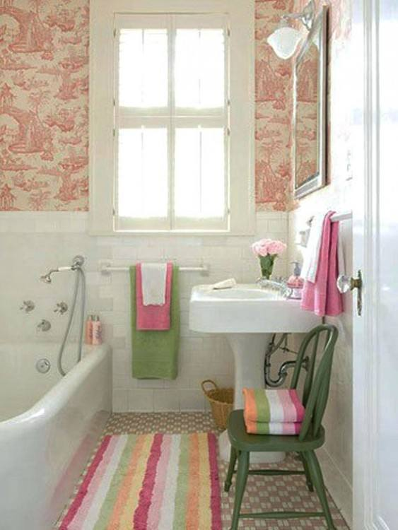 No matter how small or large bathroom you have, I am sure you wouldn't mind making it bigger