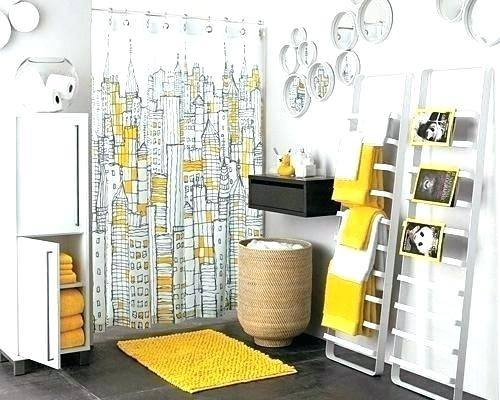 yellow and grey bathroom decorating ideas yellow grey white bathroom decor accessories for decorating clear gray