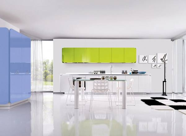 Kitchen Design for Lofts 3 Urban Ideas from Snaidero then Upper Cabinets Can Be a Closed