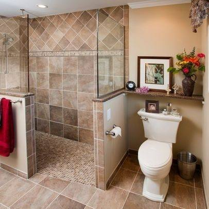 hero tiny house bathroom with gray tile