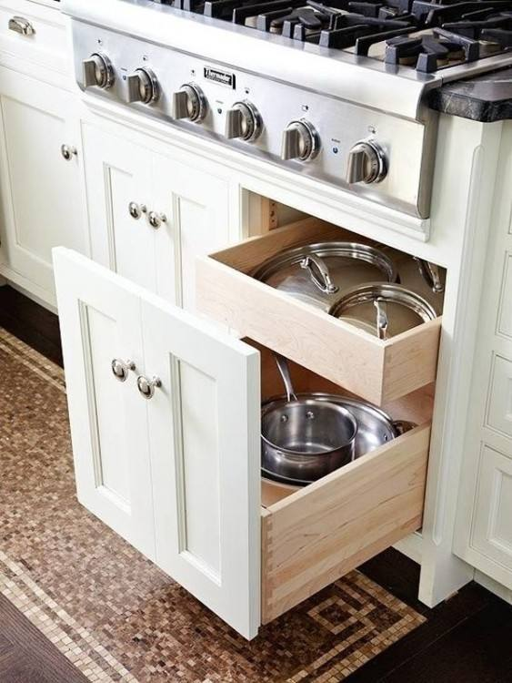 Cookbook storage ideas