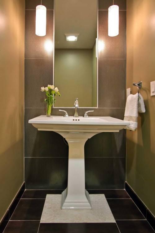 comfortable pedestal sinks