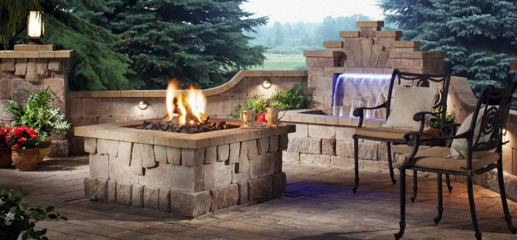 The Fire Place in Whately, MA, has many Outdoor Living items, including fire pits, grilles and ovens, and recycled materials furniture
