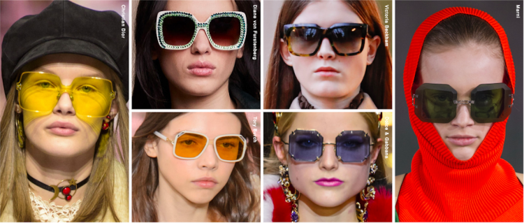Top 20 Glasses Moments | New York Fashion Week