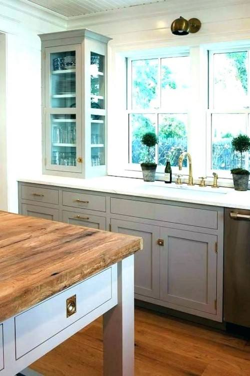 Believe it or not, with white walls or cabinets, it's easier to keep clean