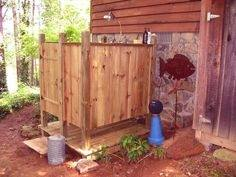 outdoor shower plans enclosure home improvement simple ideas designs cottage life r building outside rs