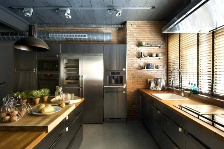 Modern Kitchen Curtain Ideas Modern Kitchen Urban Kitchen With White Tiles And Exposed Bulb Lights Modern Kitchen Curtains Ideas Contemporary Kitchen Window