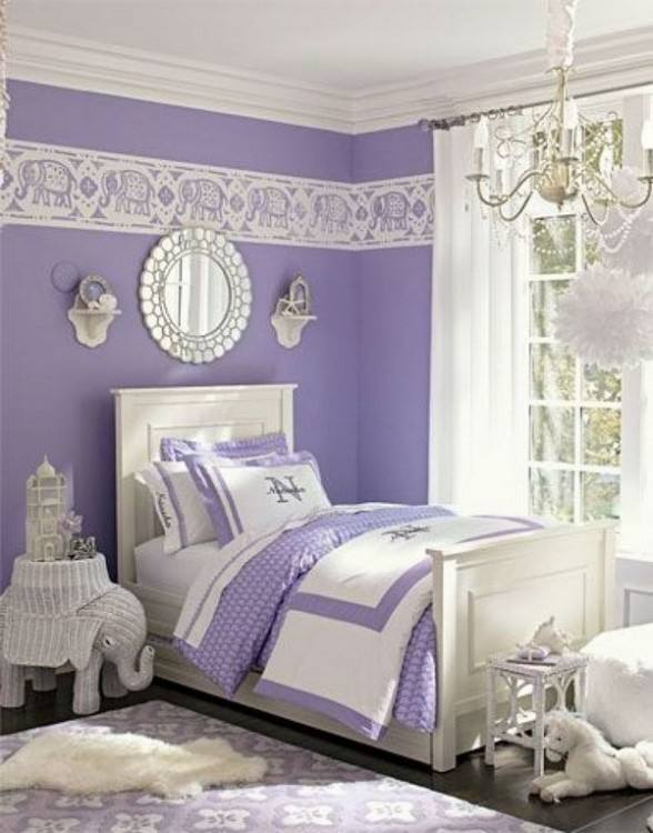 mauve color bedroom