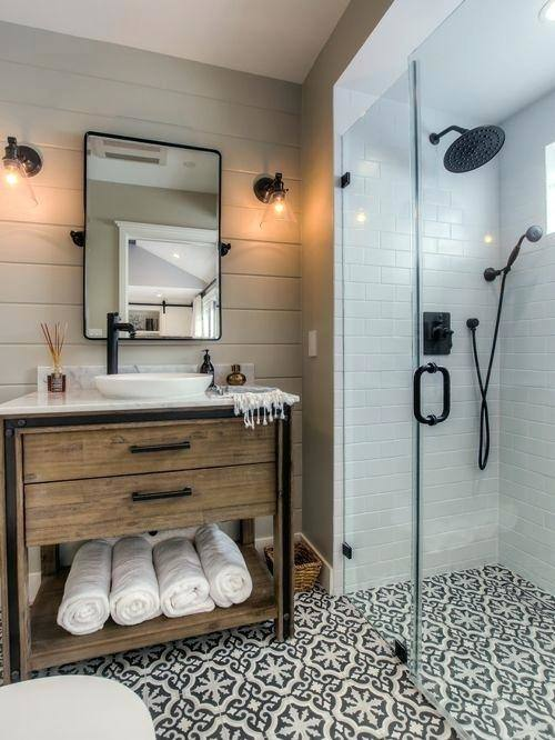 I love this glass shower