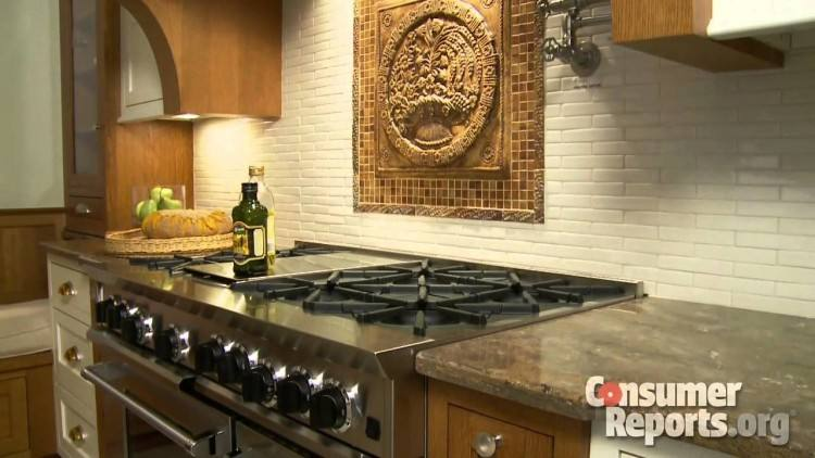 Shaker cabinets in a darker hue in deVol's Victoria Road kitchen
